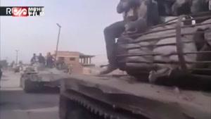 تصاویری از حضور نظامیان سوری در مناطق آزادشده غوطه شرقی