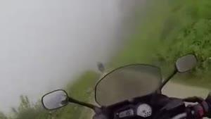 فیلم/خطرناکترین جاده در دنیا