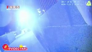 ویدئوی منتشر شده از پلیس لاسوگاس در حال جستوجوی عامل تیراندازی
