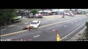 خیابانی مرگبار برای موتورسواران