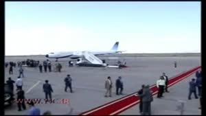 ورود رئیس جمهور به کرمان