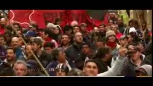 تظاهرات مردم آرژانتین علیه رئیس جمهور کشورشان
