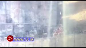 فیلم انتقال یکی از پیکرهای پیدا شده در نفتکش