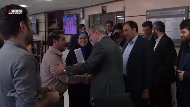 بازدید وزیر آموزش و پرورش از خبرگزاری فارس