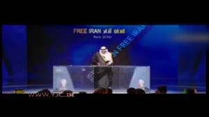 سانسور خبر مرگ مسعود رجوی توسط مترجم تلویزیون منافقین!