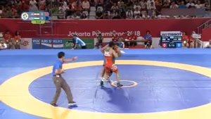 کسب مدال طلای وزن ۸۷ کیلوگرم توسط حسین نوری