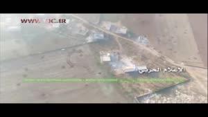 حمله پهپاد حزب الله به مواضع تروریستها در ریف حلب
