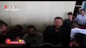 پشت صحنه «لونه زنبور» با بازی پژمان جمشیدی و محسن کیایی