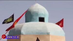 توقف زائران پاکستانی امام حسین (ع) در موکب زاهدان