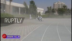 رونمایی از موتور پرنده توسط پلیس دبی