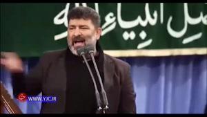 مداحی سعید حدادیان در پنجمین شب عزاداری ایام فاطمیه با حضور رهبر انقلاب