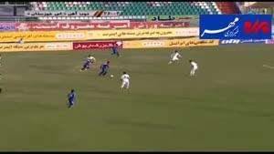 فیلم/ خلاصه دیدار تیم های ذوب آهن - استقلال خوزستان