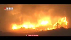جدیدترین تصاویر از بزرگترین آتشسوزی تاریخ کالیفرنیا
