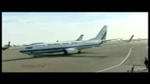 هواپیما و اسکورت نخست وزیر هند در فرودگاه مهرآباد چگونه بود