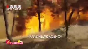 آتشسوزی جنگلهای شرق گلستان