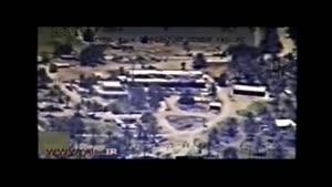 لحظه بمباران آپاچی روسی به مواضع تروریست ها
