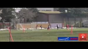 فیلم/ تمرین امروز تیم فوتبال پرسپولیس در درفشی فر