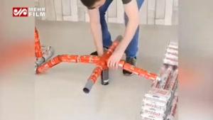 ساخت ماشین مسابقهای با صدها بطری فلزی!