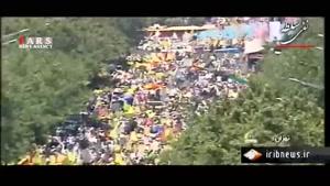 تصاویر هوایی راهپیمایی باشکوه روز قدس