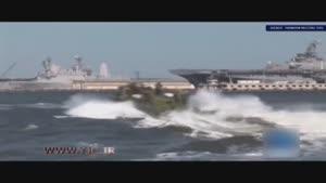 سپاه دو شناور رزمی امریکایی را در خلیج فارس توقیف کرد