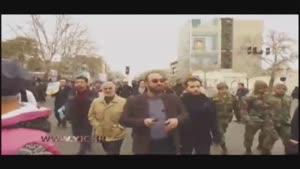 حضور سردار سلیمانی در راهپیمایی ۲۲ بهمن