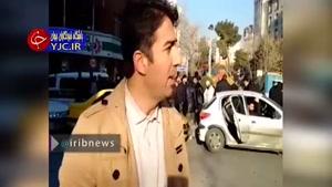 بازگشت آرامش به خیابانهای تهران