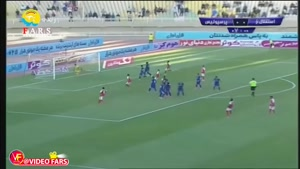 خلاصه بازی استقلال خوزستان ۱_۳ پرسپولیس