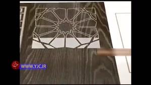 طراحی روی چوب با لیزر
