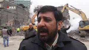 سردار کریمی: ۱۰ شهروند در حادثه پلاسکو مفقود شدهاند