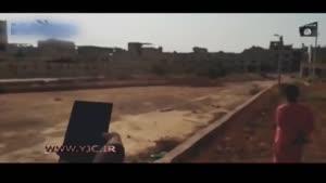 انفجار دو مرد با مواد منفجره توسط داعش