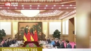 رایزنی های برجامی «مرکل» در چین