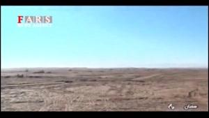 شلیک جدیدترین راکت نقطهزن سپاه در رزمایش پیامبر اعظم (ص)