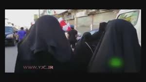 تظاهرات بحرینی ها در اعتراض به مسابقات فرمول ۱