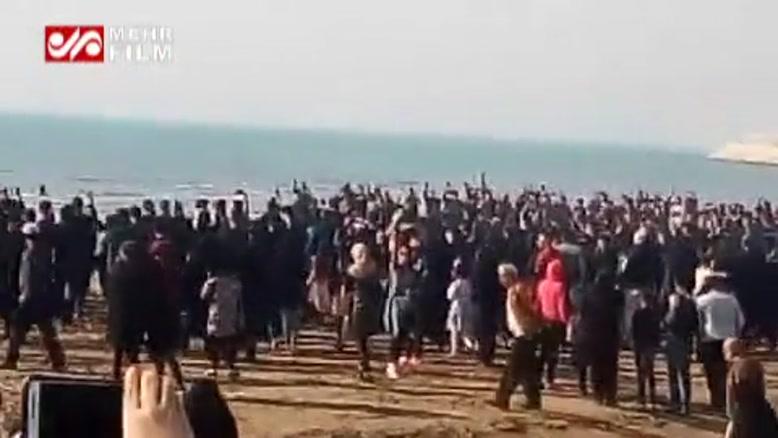 سنج و دمام بوشهری ها برای جانباختگان نفتکش سانچی