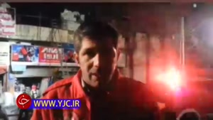 وقوع آتش سوزی در یک انبار مصالح ساختمانی/ توصیههای سخنگوی سازمان آتش نشانی درباره اتفاقات احتمالی در آستانه چهارشنبه سوری