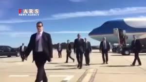 حرکت عجیب اوباما قبل از دست دادن با مردم!