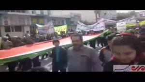 فیلم/ راهپیمایی ۲۲ بهمن در بوشهر