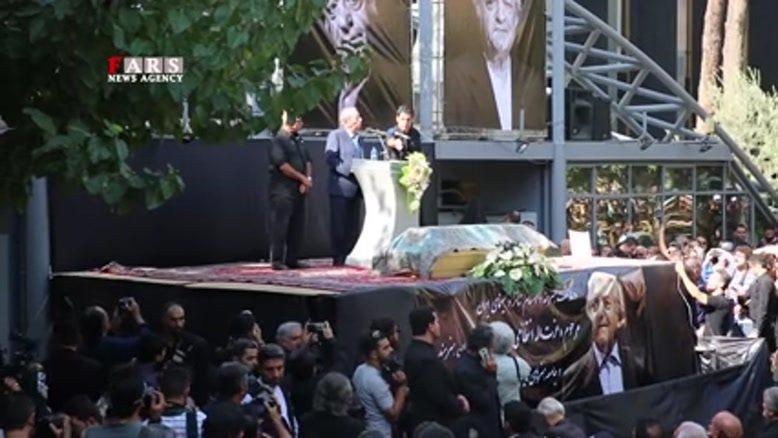 آواز علی نصیریان برای عزتالله انتظامی