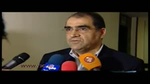گلایه وزیر بهداشت از روایت فیش های چند میلیونی