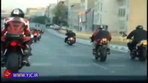 مانور سنگین سواران در خیابان های پایتخت