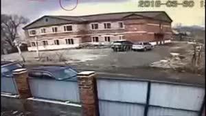فیلم/سقوط جنگنده سوخو ۲۵ در شرق روسیه