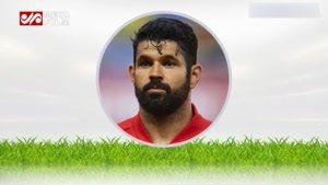 ترکیب جالب چهره ستارگان فوتبال