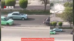 فیلم دیده نشده از لحظه فشردن ریموت انفجاری توسط یک تروریست