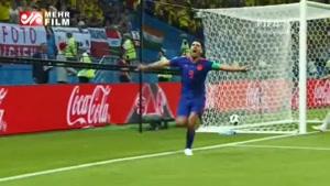 پیش بازی کلمبیا و انگلیس در مرحله یک هشتم جام جهانی ۲۰۱۸