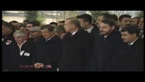 مراسم تشییع پیکر جان باختگان حمله تروریستی در استانبول