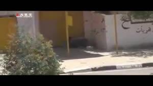 مجروح شدن سرباز عراقی هنگام نجات یک شهروند