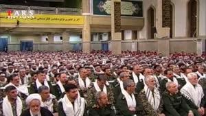 رهبر انقلاب: متهم کردن بسیج به تندروی و افراط تکمیل پروژه نفوذ دشمن است