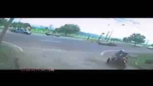 تصادف مرگبار موتورسیکلت با وانت