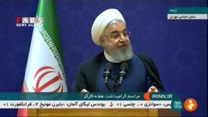 روحانی: دولت زیاد چاق شده و نمیتواند راه برود!