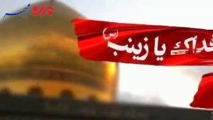 فیلم/اینان مدافعان حرم تو هستند یا زینب (س)